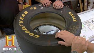 Pawn Stars: Dale Earnhardt Signed Tire (Season 5)   History