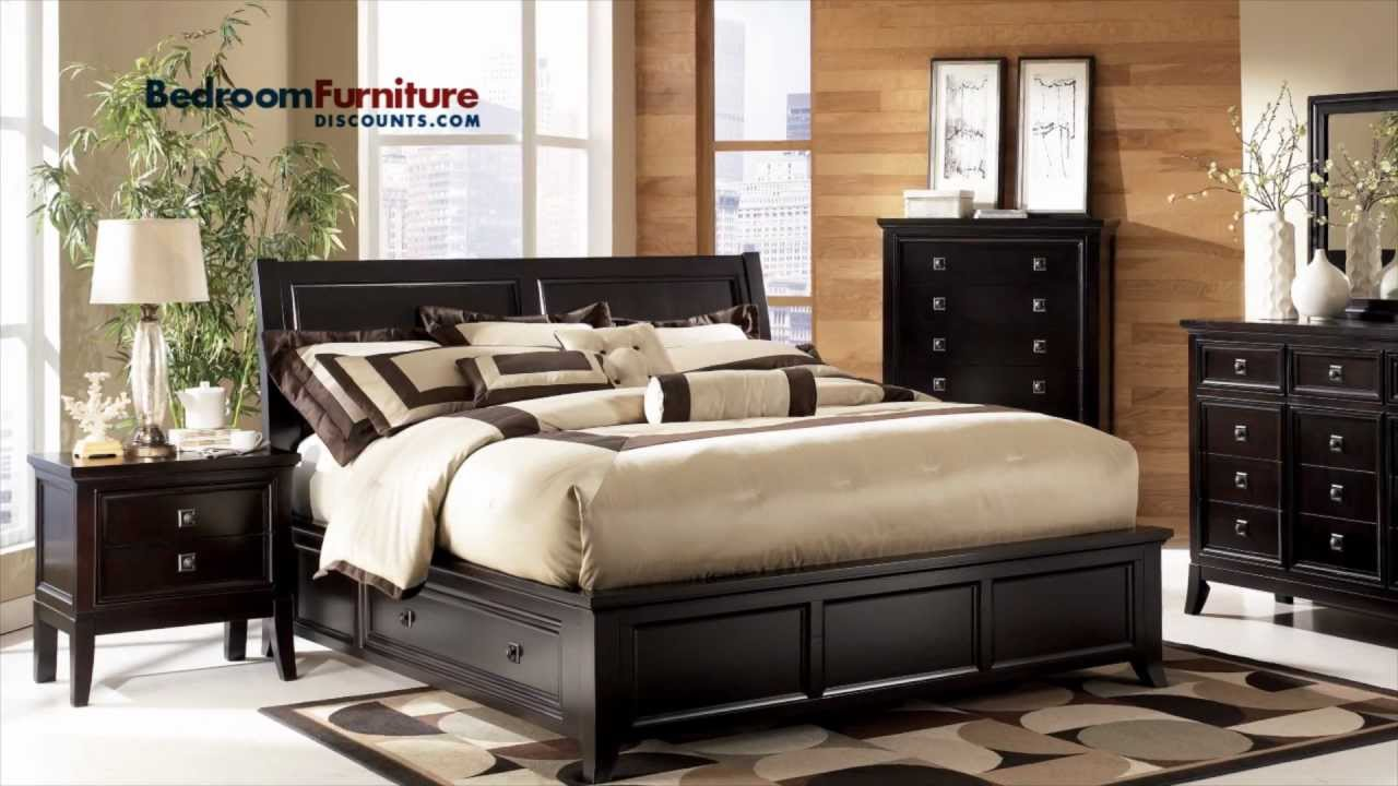 Ashley Martini Suite Platform Storage Bedroom Set YouTube