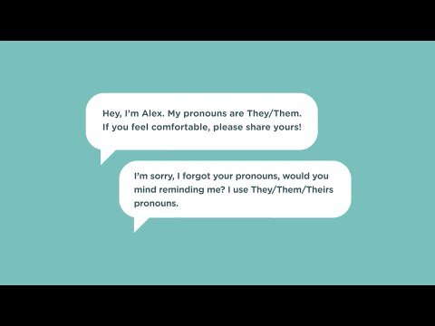 The Importance of Pronouns – Intro to Gender & Sexuality