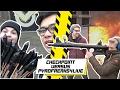 SCHIETEN MET EEN VUURWERKBAZOOKA!! - CHECKPOINT VERSUS PYROFREAKS4LIVE