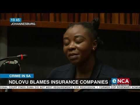 Ndlovu blames insurance companies
