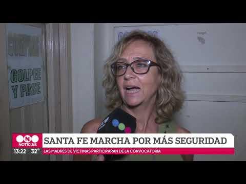 """Bajo la consigna """"Santa Fe sangra"""", convocan a marchar por más seguridad"""