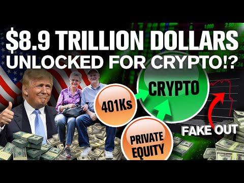 CRASH is a SETUP!! Why? 401k Trillions Arrive Soon!