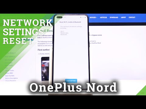 How to Reset Network Settings in OnePlus Nord – Restore Default Network