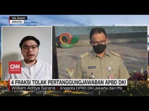 4 Fraksi Tolak Pertanggungjawaban APBD DKI