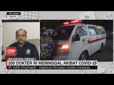 100 Dokter Meninggal Akibat Covid-19