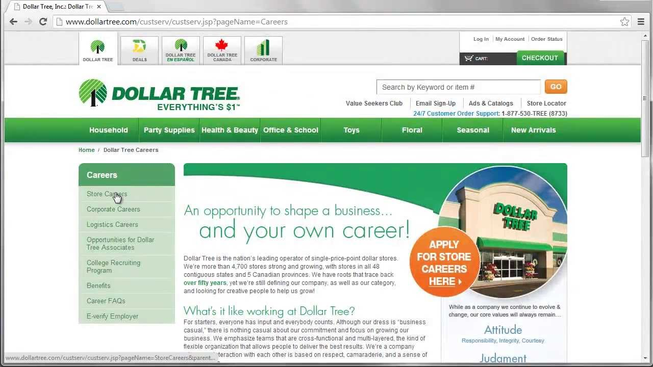Dollar Family Application Apply Online