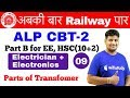 7:00 AM - ALP CBT-2 Electrician & Electronics | Day #09 | Parts of Transfomer