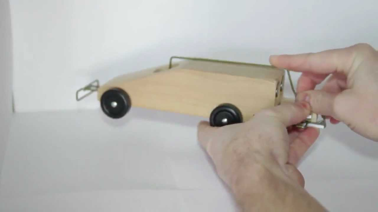CO2 Pinewood Derby Car Explanation  YouTube