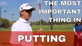 The Most Important Thing in Putting with Tour Coach Tim Yelverton, PGA