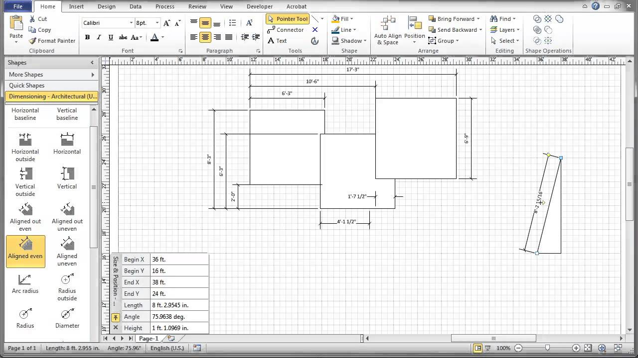 What Is A Murphy Bed: Visio Shapes