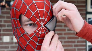 All Secrets to Making the Spider-Man Movie Mask