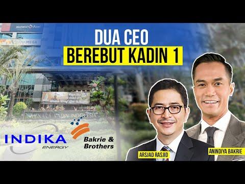 Bos Indika Energy (INDY) dan Bos Bakrie & Brothers (BNBR) Berebut Posisi Kadin 1
