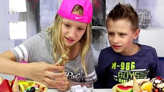 GUMMY vs REAL Pizza Challenge