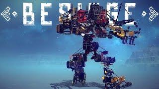 Besiege Best Creations - Transformers ″Devastator″ 7 in 1 Transformer, Tank Helicopter & More!