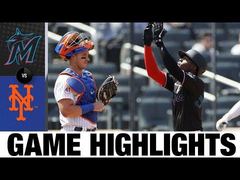 Marlins vs. Mets Game Highlights (4/10/21)   MLB Highlights