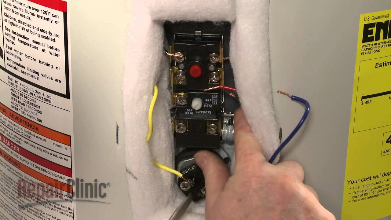 Hot Water Heater Wiring Diagram How To Replace A Water Heater
