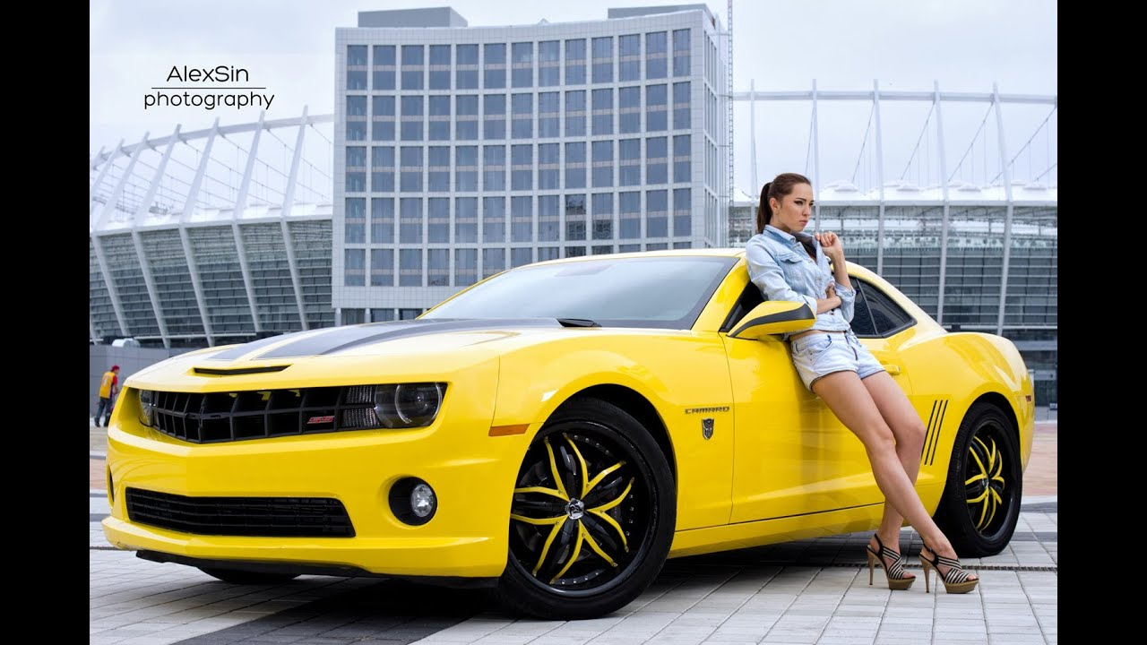 Camaros And Girls Wallpaper Photoshoot Quot Girls And Cars Quot Kiev 2012 Hd 720p Youtube