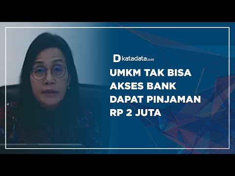 UMKM Tak Bisa Akses Bank, Dapat Pinjaman Rp 2 Juta   Katadata Indonesia