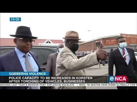 NMB Mayor speaks on Gqeberha Violence