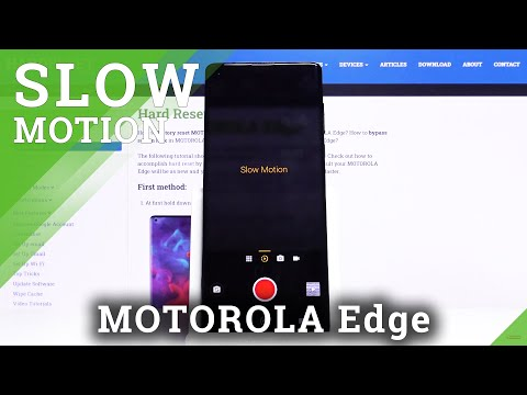 How to Record Videos in Slow Motion on Motorola Edge – Enable Slow Motion Feature