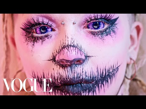 "Jazmin Bean's ""Hybrid Creature"" Extreme Beauty Tutorial 