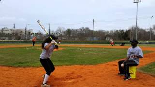 P2 Tryouts With Soft Toss Hitting Pt. 2 02/21/16
