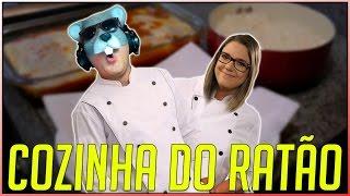 🤗COZINHA DO RATÃO COM FRANGO Ä PARMEGIANA E BATATA FRITA - Ft. MALENA