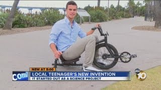 INVENTION: Onda Cycle - A Different Kind of Bike
