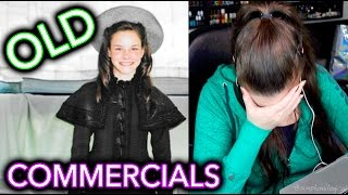 Reacting to my OLD COMMERCIALS as a child before