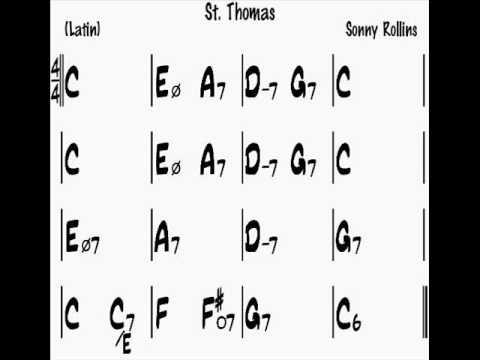 St Thomas 【マイナスワン】C 160 Backing Track /セント・トーマス Musica