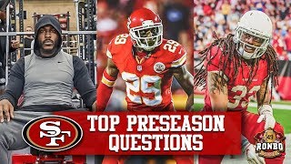 Live! 49ers Tevin Coleman Favorite For ″Most Touches″ | Will SF Be Looking To Sign Another Safety?