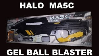 Halo MA5C Gel Ball Shooter/Blaster Free Download Video MP4 3GP M4A