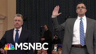 Republican Defenses Break Down During Impeachment Hearings   The Last Word   MSNBC