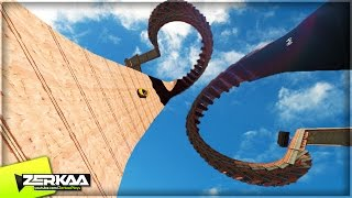 MOST INSANE SKY SPIRAL EVER (GTA 5 Funny Moments)