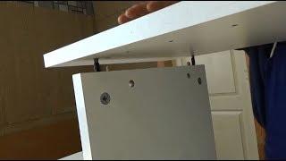 Установка мебельной фурнитуры Конфирмат, Минификс Rastex, Рафикс, стяжка VB