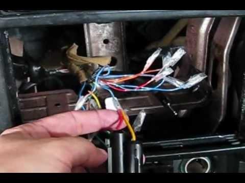 1994 Dodge Dakota Wiring Diagram Light Boss 612ua Mazda 626 Audio Install Guide Youtube