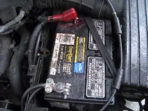 2006 Charger Fuse Box Location Battery Cable Negative Side And Terminal Replace 2000