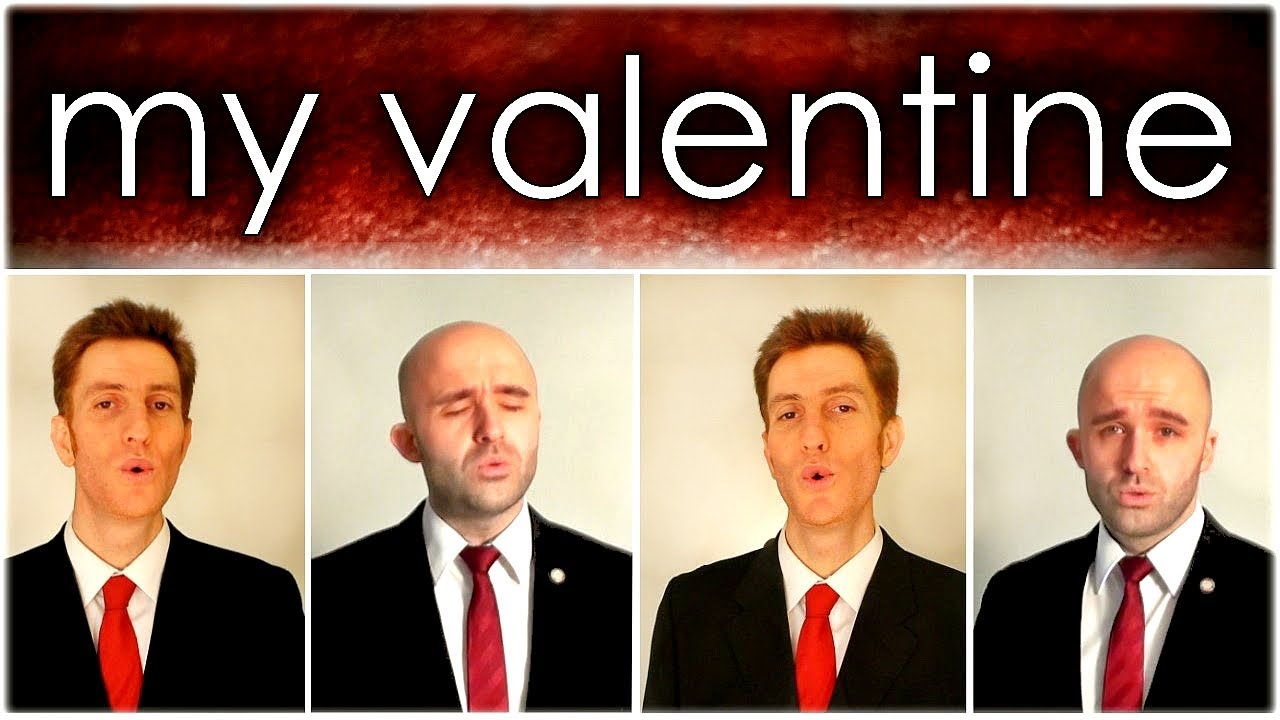 My Valentine Paul McCartney Barbershop Quartet A