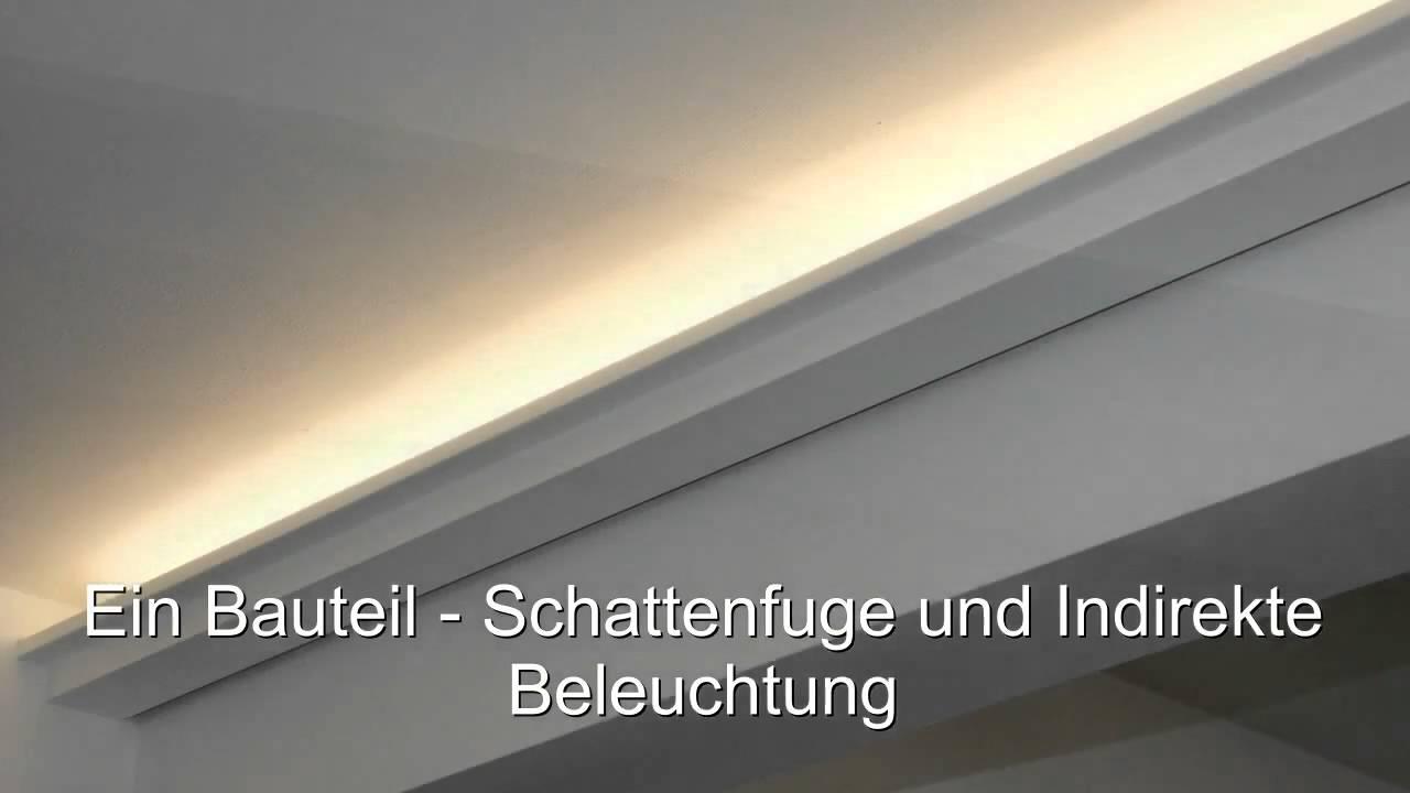 LEDBeleuchtung und indirektes Licht mit Lichtvouten