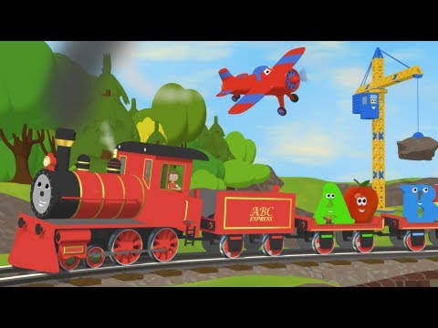 Alphabet Train With TWO Objects Per Letter YouTube