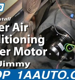 how to install heater air conditioning blower motor chevy gmc pickup truck 1aauto com youtube 1982 1998 gmc jimmy fuse box diagram  [ 1920 x 1080 Pixel ]