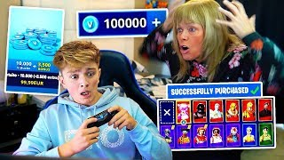 Kid Spends $500 on FORTNITE with Mom's Credit Card... [MUST WATCH]