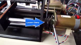 THE PLOTTER DOCTOR Installing rotate belt Free Download Video MP4
