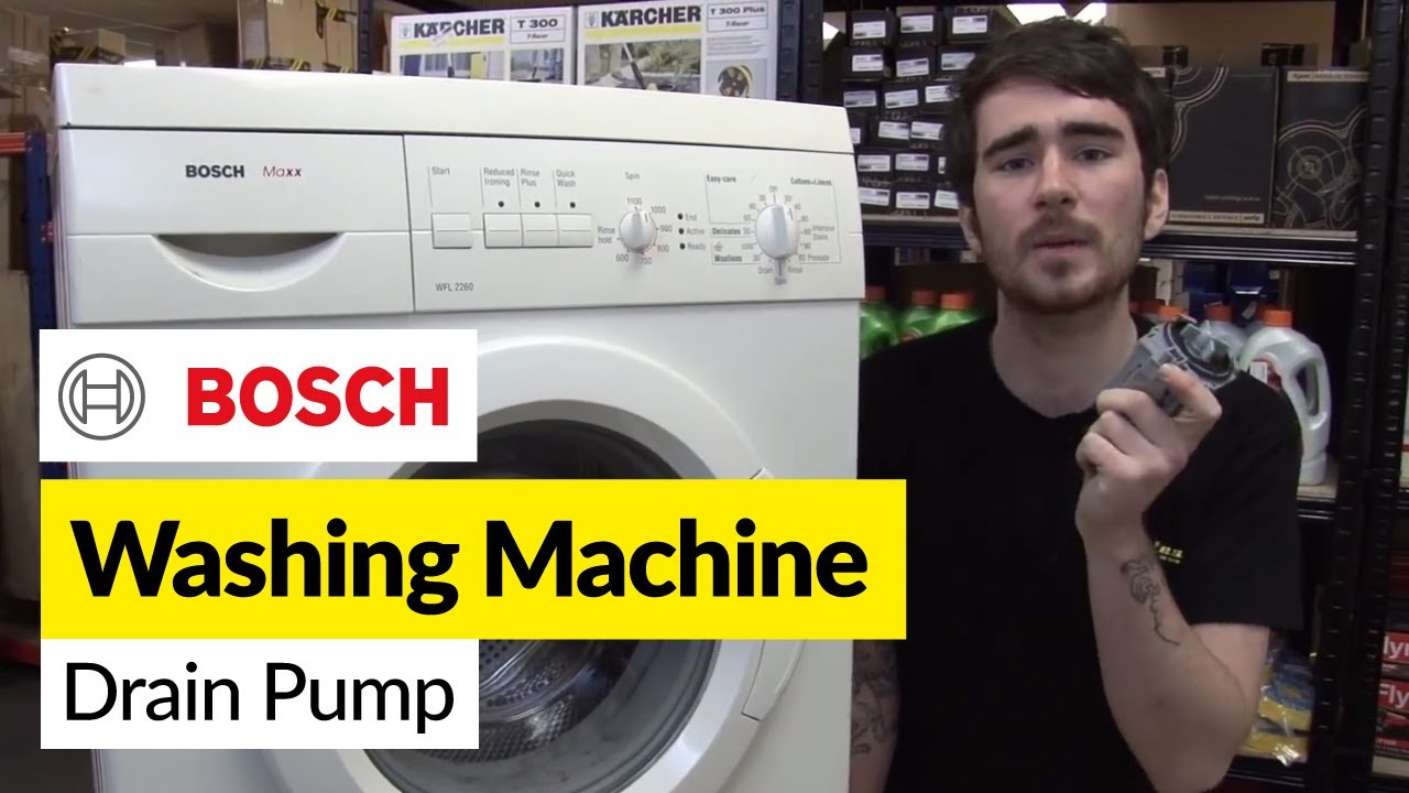 Ge Dryer Wiring Diagram How To Replace Washing Machine Pump On A Bosch Washer
