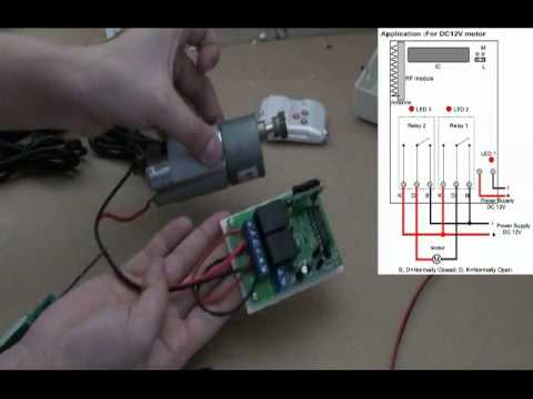 Bodine Electric Wiring Diagram Reverse Dc Motor By 2 Channel Simple Rf Remote Control