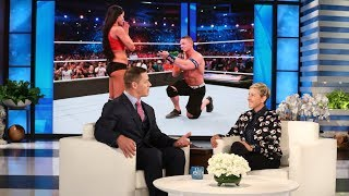 John Cena Has to Warn His Fiancee About Nude Scenes
