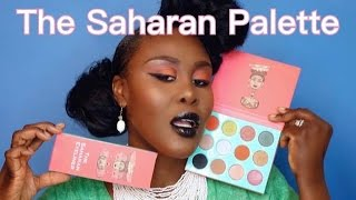NEW JUVIA'S PLACE SAHARAN PALETTE UNBOXING, REVIEW & SWATCHES | Fumi Desalu-Vold