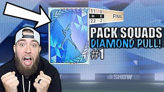 SICK DIAMOND PULL! 1st Mercy rule of MLB The Show 19? Pack Squads #1
