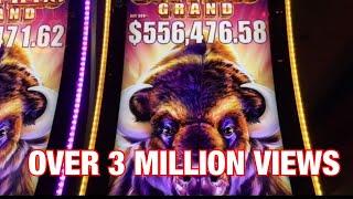 Buffalo Grand Slot Super Jackpot Handpay -Biggest Buffalo Win on -